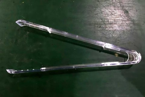 Disposable Clamps produced by ChenHsong EM260-V Injection Molding Machine